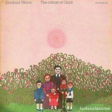 Discos de vinilo: EBERHARD WEBER THE COLOURS OF CHOE. Lote 277287903