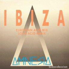 """Discos de vinilo: AMNESIA * 12"""" MAXI VINILO * IBIZA * BOY RECORDS 1989 SPAIN. Lote 277295153"""