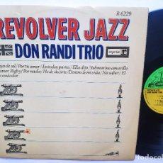 Discos de vinilo: REVOLVER JAZZ ( BEATLES JAZZ COVERS ) - LP SPAIN PS - DON RANDI TRIO - REPRISE 1966. Lote 277302143
