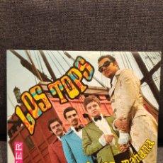 Discos de vinilo: SINGLE LOS TOPS TAL VEZ MAÑANA+ VENUS, 1970, COMO NUEVO. Lote 277303313