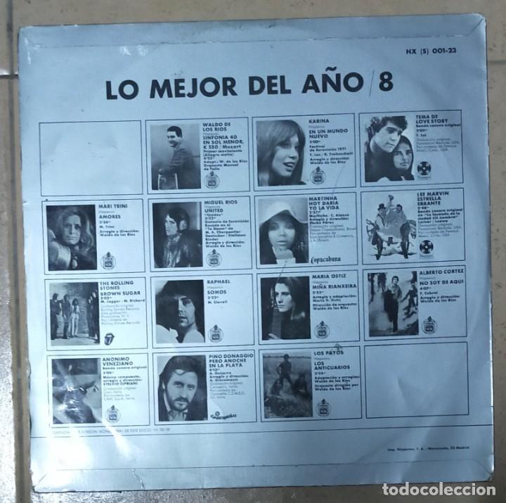 Discos de vinilo: LO MEJOR DEL AÑO VOL. 8 1971 - Foto 2 - 277303813