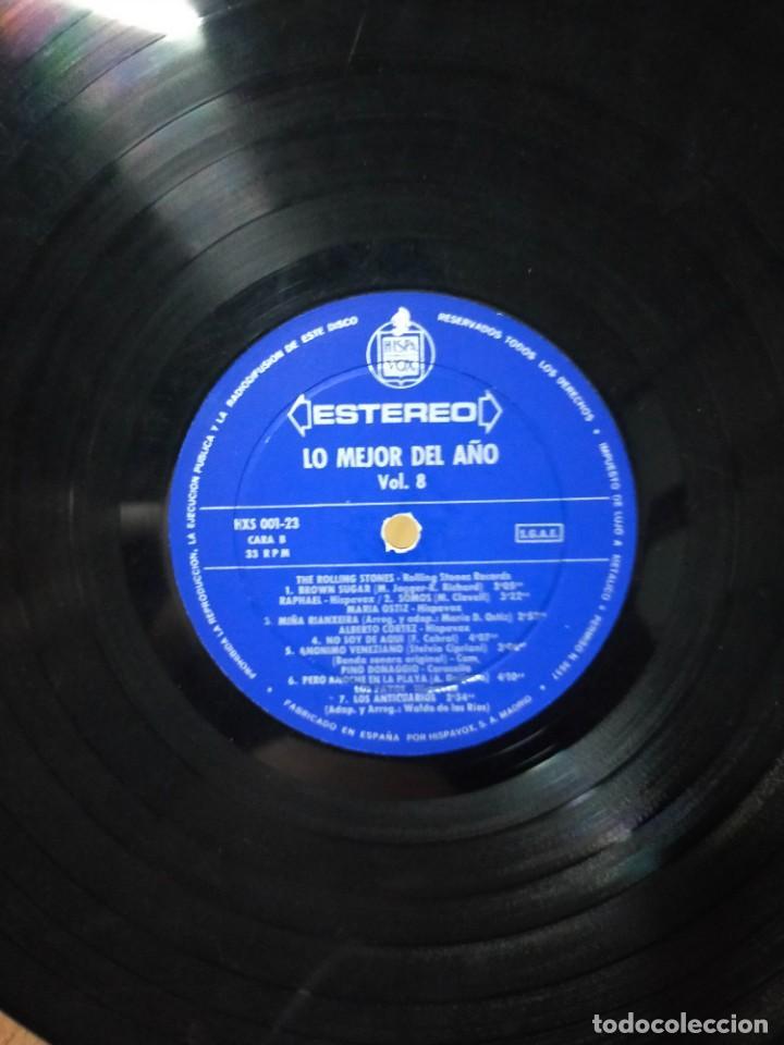 Discos de vinilo: LO MEJOR DEL AÑO VOL. 8 1971 - Foto 3 - 277303813