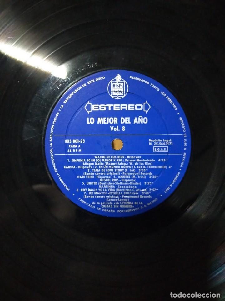 Discos de vinilo: LO MEJOR DEL AÑO VOL. 8 1971 - Foto 4 - 277303813