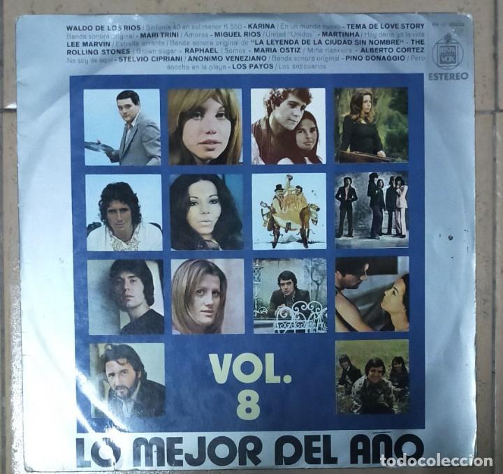 LO MEJOR DEL AÑO VOL. 8 1971 (Música - Discos de Vinilo - EPs - Grupos Españoles de los 70 y 80)