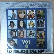 Discos de vinilo: LO MEJOR DEL AÑO VOL. 8 1971. Lote 277303813