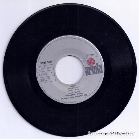 Discos de vinilo: DISCO SINGLE - ANEKA - 5103 349 (1981) - Foto 3 - 277304468