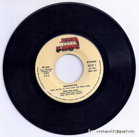 Discos de vinilo: DISCO SINGLE - BODY TALK - RBS 201 (1981) - Foto 3 - 277304573