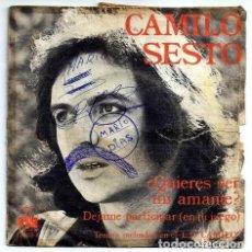 Discos de vinilo: DISCO SINGLE - CAMILO SESTO - 13.468-A (1974). Lote 277304718