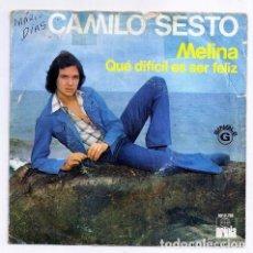 Discos de vinilo: DISCO SINGLE - CAMILO SESTO - 5013.726 (1975). Lote 277304753