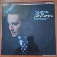 Discos de vinilo: VINILO JOSE CARRERAS (SOLAMENTE UNA VEZ). Lote 277304758