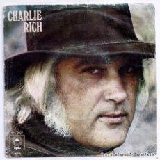 Discos de vinilo: DISCO SINGLE - CHARLIE RICH - EPC-2022 (1973). Lote 277304848