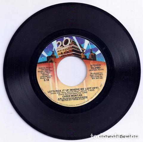 Discos de vinilo: DISCO SINGLE - CHRIS MONTAN - TC-2480 (1980) - Foto 3 - 277304873