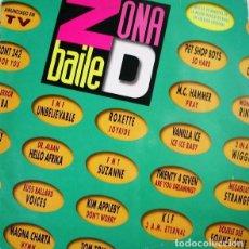 Discos de vinilo: ZONA DE BAILE * 2LP EMI SPAIN 1991. Lote 277304983