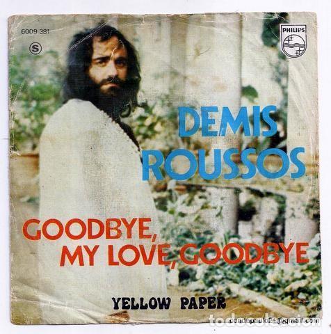 DISCO SINGLE - DEMIS ROUSSUS - 6009 381 (1973) (Música - Discos - Singles Vinilo - Otros estilos)