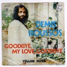 Discos de vinilo: DISCO SINGLE - DEMIS ROUSSUS - 6009 381 (1973). Lote 277304993
