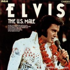 Discos de vinilo: ELVIS - THE U.S. MALE (LP, ALBUM, COMP) (RCA CAMDEN - CDS 1150) LP VINILO. Lote 277412948