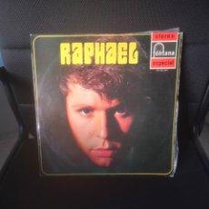 Discos de vinilo: RAPHAEL STEREO ESPACIAL (FONTANA 1969. Lote 277420133