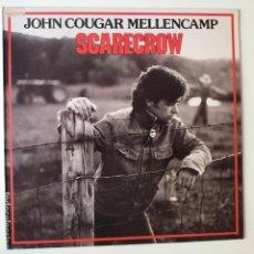 Discos de vinil: JOHN COUGAR MELLENCAMP- SCARECROW- SPAIN LP 1985- VINILO CASI NUEVO.. Lote 277420288