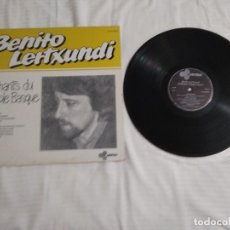 Discos de vinilo: BENITO LERTXUNDI / CHANTS DU PEUPLE BASQUE / LP 33 RPM / ARFOLK. Lote 277423813