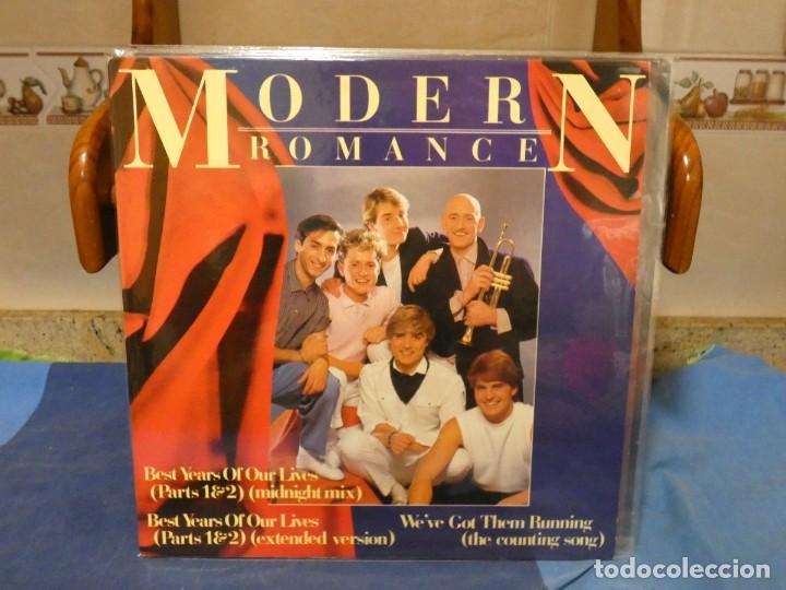 MAXI SINGLE UK CIRCA 1988 MODERN ROMANCE BEST YEARS OF... MUY BUEN ESTADO (Música - Discos - LP Vinilo - Pop - Rock - Internacional de los 70)