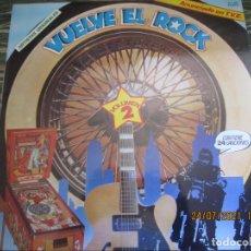 Discos de vinilo: VUELVE EL ROCK LP - VARIOS ARTISTAS - EDICION ESPAÑOLA - K-TEL RECORDS 1980 - MUY NUEVO (5). Lote 277434368