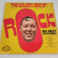 Discos de vinilo: BILL HALEY AND THE COMETS - THE GOLDEN KING OF ROCK (LP, COMP). Lote 277436708