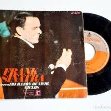Discos de vinilo: DISCO VINILO 45 RPM FRANK SINATRA. Lote 277440738