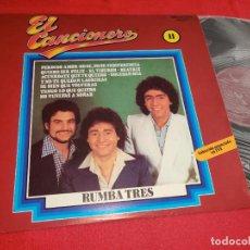 Discos de vinilo: RUMBA TRES 3 EL CANCIONERO 11 LP 1979 BELTER. Lote 277447018