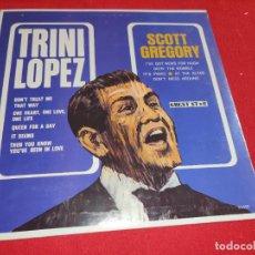 Discos de vinilo: TRINI LOPEZ / SCOTT GREGORY LP 1964 GUEST STAR EDICION AMERICANA USA PRECINTADO. Lote 277448523
