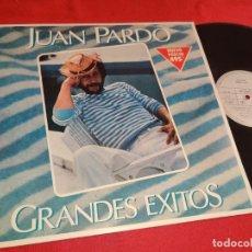 Discos de vinilo: JUAN PARDO GRANDES EXITOS LP 1980 ARIOLA EXCELENTE ESTADO. Lote 277448913