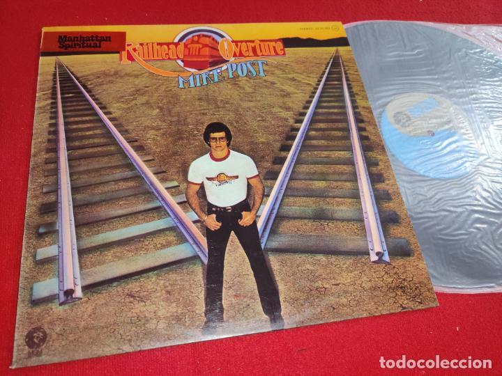 MIKE POST RAILHEAD OVERTURE LP 1975 MGM ESPAÑA SPAIN EXCELENTE ESTADO (Música - Discos - LP Vinilo - Pop - Rock - Internacional de los 70)