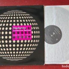 "Discos de vinilo: MADONNA CONFESSIONS REMIXED - 42916-0 - VINYL 12"" - EUROPE (LIMITED EDITION VINYL). Lote 277450293"