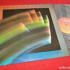 Discos de vinilo: SUTHERLAND BROTHER & QUIVER SLIPSTREAM LP 1976 CBS ESPAÑA SPAIN SBQ EX. Lote 277452148
