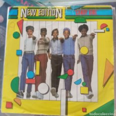 Discos de vinilo: NEW EDITION - CANDY GIRL (LONDON RECORDS, UK, 1983). Lote 277454718