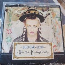 Discos de vinilo: CULTURE CLUB - KARMA CHAMELEON (VIRGIN, UK, 1983). Lote 277455553