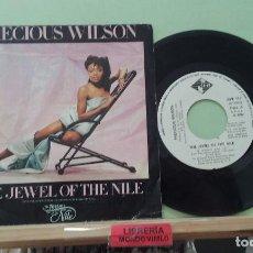 Discos de vinilo: PRECIOUS WILSON. THE JEWEL OF THE NILE. JIVE 1986, REF. JIVE 115 - SINGLE. Lote 277455753