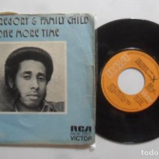 Discos de vinilo: SINGLE - TONY GREGORY & FAMILY CHILD - A: ONE MORE TIME - B: GIMME, GIMME - RCA VICTOR - 1974. Lote 277458853