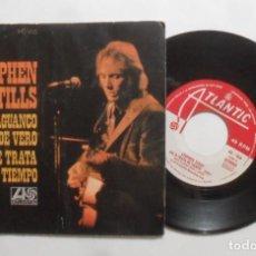 Discos de vinilo: SINGLE - STEPHEN STILLS - A: GUAGUANCO DE VERO - B: NO SE TRATA DE TIEMPO - ATLANTIC - 1973. Lote 277458988
