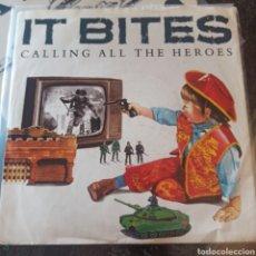 Discos de vinilo: IT BITES - CALLING ALL THE HEROES (VIRGIN, UK, 1986). Lote 277460073