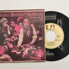 """Discos de vinilo: VINILO DE 7 PULGADAS DE KENNY ROGERS QUE CONTIENE """"THE GAMBLER"""" Y """"SAN FRANCISCO MABEL JOY"""". UAR. Lote 277462343"""