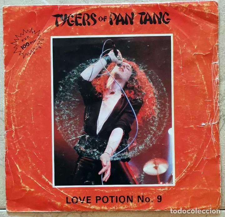 TYGERS OF PAN TANG – LOVE POTION NO.9 SPAIN 1982 (Música - Discos - Singles Vinilo - Heavy - Metal)