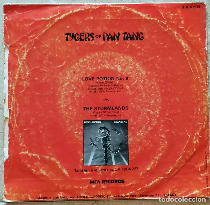 Discos de vinilo: Tygers Of Pan Tang – Love Potion No.9 Spain 1982 - Foto 2 - 277470988
