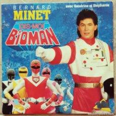Discos de vinilo: BERNARD MINET – BIOMAN FRANCE 1987. Lote 277472028