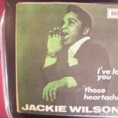 Discos de vinilo: JACKIE WILSON- I´VE LOST YOU. SINGLE. RARÍSIMO.. Lote 277472078