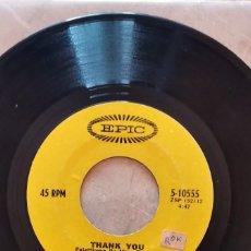 Discos de vinilo: SLY & THE FAMILY STONE – THANK YOU USA 1969 SIN PORTADA. Lote 277472533