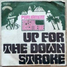 Discos de vinilo: PARLIAMENT – UP FOR THE DOWN STROKE FRANCE 1975 P.FUNK GEORGE CLINTON. Lote 277472883