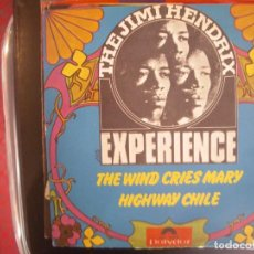 Disques de vinyle: THE JIMI HENDRIX EXPERIENCE- THE WIND CRIES MARY. SINGLE.. Lote 277473518