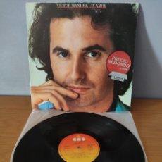 Discos de vinilo: VÍCTOR MANUEL - AY AMOR. Lote 277475368