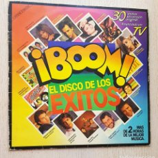 Discos de vinilo: ¡ BOOM ! EL DISCO DE LOS ÉXITOS (2 VINILOS LP / AÑO 1985). Lote 297100088