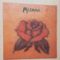 Discos de vinilo: MECANO - UNA ROSA ES UNA ROSA (VINILO MAXI-SINGLE). Lote 277476498